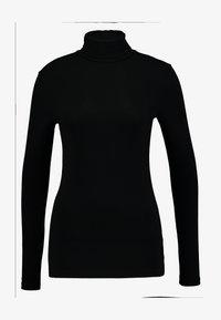 Dorothy Perkins Tall - HIGH NECK - Topper langermet - black - 3
