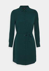 VMSAGA COLLAR SHIRT DRESS PETITE - Shirt dress - sea moss