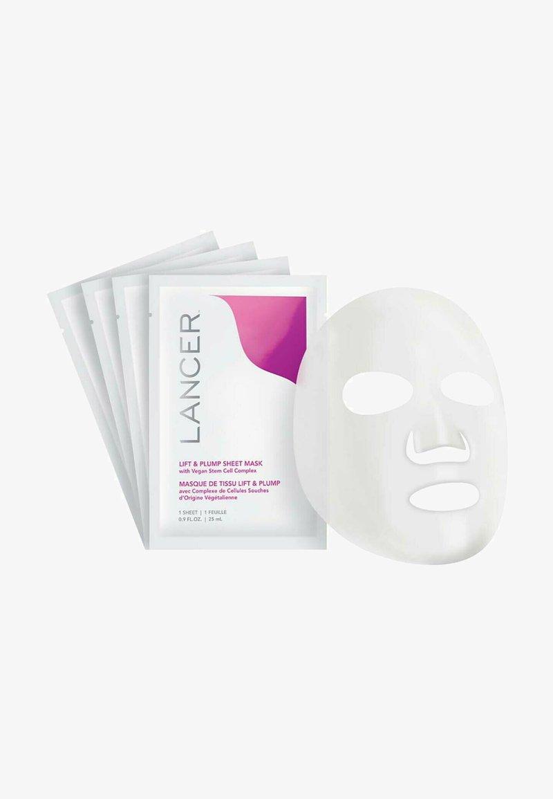LANCER - MASKE LIFT & PLUMP SHEET MASK - BOX 4 - Face mask - -