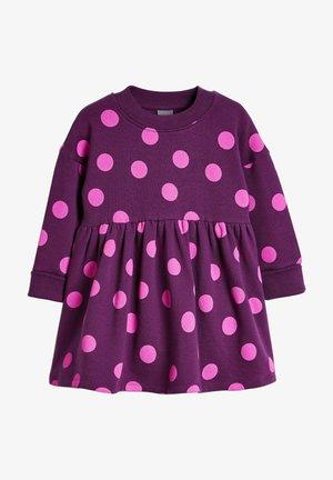 COSY - Day dress - dark purple
