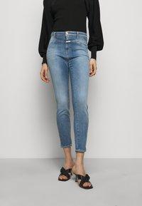 CLOSED - PUSHER - Skinny džíny - mid blue - 0