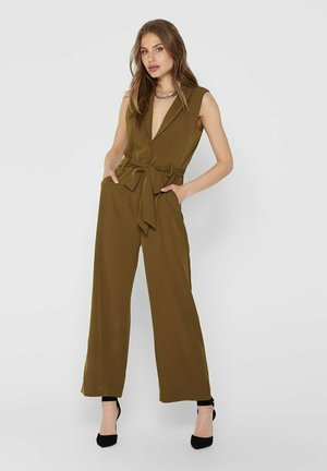 Jumpsuit - russet brown