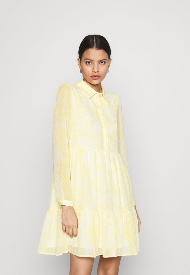 VIPLISSEA SHIRT DRESS - Shirt dress - spicy mustard