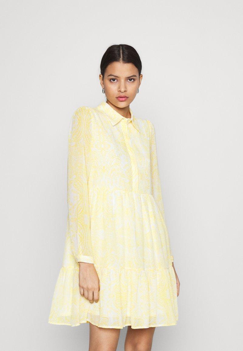 Vila - VIPLISSEA SHIRT DRESS - Shirt dress - spicy mustard