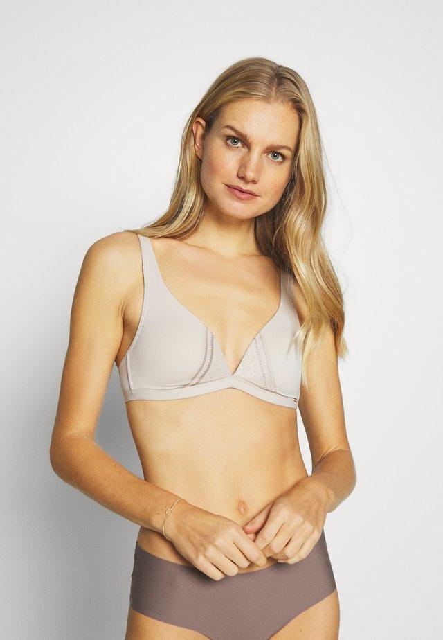 GEPADDET INSPIRE - Triangle bra - silver grey