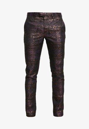 Oblekové kalhoty - multi