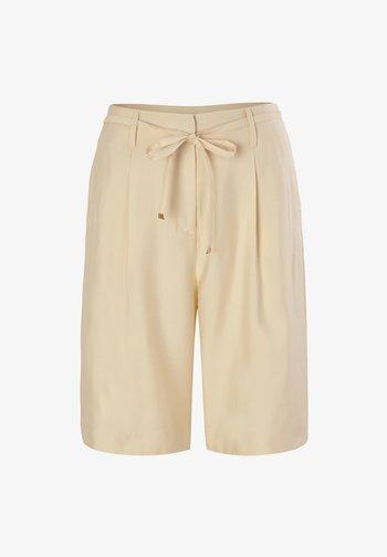 REGULAR FIT - Shorts - light beige