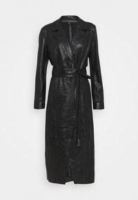 Ibana - EXCLUSIVE DAILY - Robe chemise - black - 0