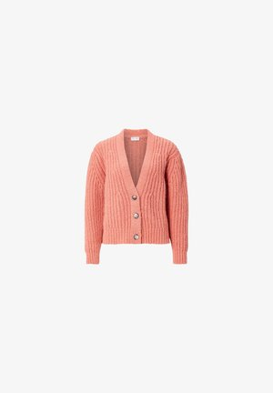 Cardigan - spiced coral