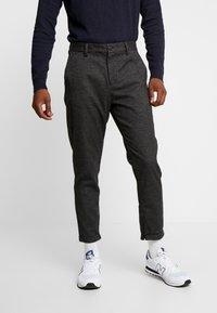 Selected Homme - SLHSPECIA ALEX MIX ZIP PANTS - Pantalones - grey - 0