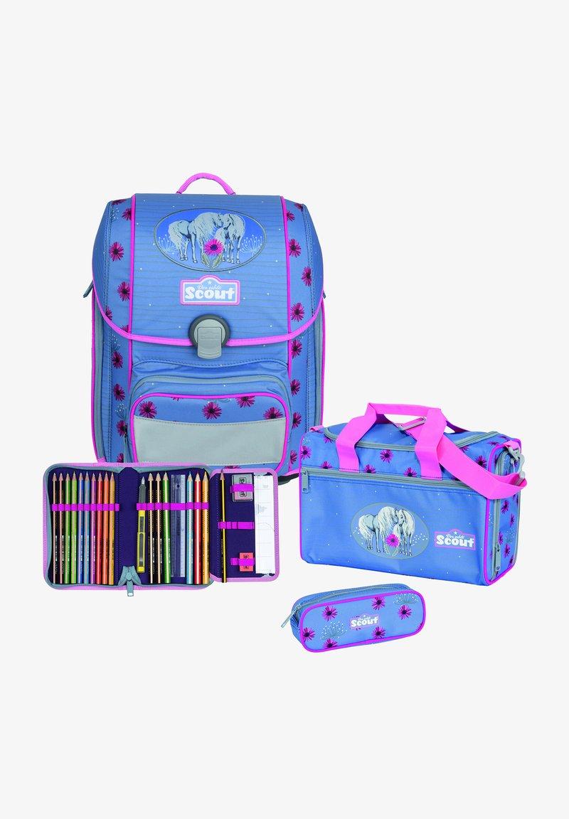 Scout - SET - Schooltas set - light blue