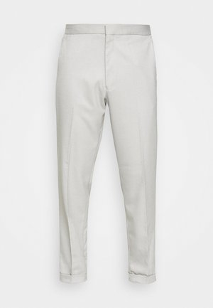 GRY PRONOUNCED RELAXED - Pantalon classique - grey
