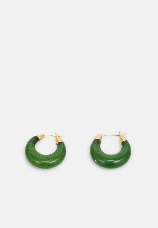 DORTHEA - Øreringe - jade
