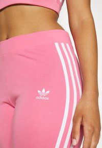 adidas Originals - STRIPES COMPRESSION - Leggings - Trousers - rose tone - 6