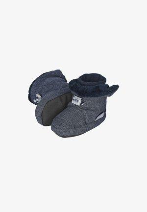 BABY WINTER-SCHUH - Baby shoes - blau meliert