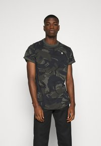 G-Star - LASH R T S\S - T-shirt con stampa - night dutch - 0