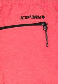 Icepeak - MODICA - Pantaloncini sportivi - hot pink - 5
