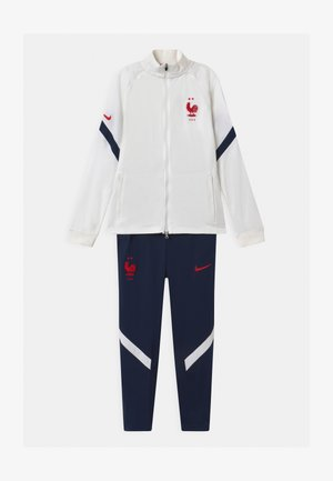 FRANKREICH SET UNISEX - National team wear - white/blackened blue/university red