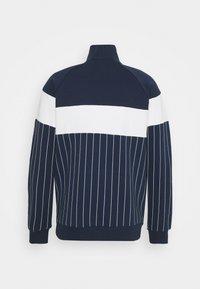 Fila - HOWE HALF-ZIP  - Sweatshirt - black iris/blanc de blanc - 1