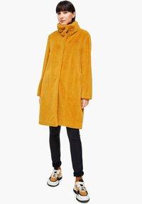s.Oliver - TEDDY - Winter coat - yellow - 2