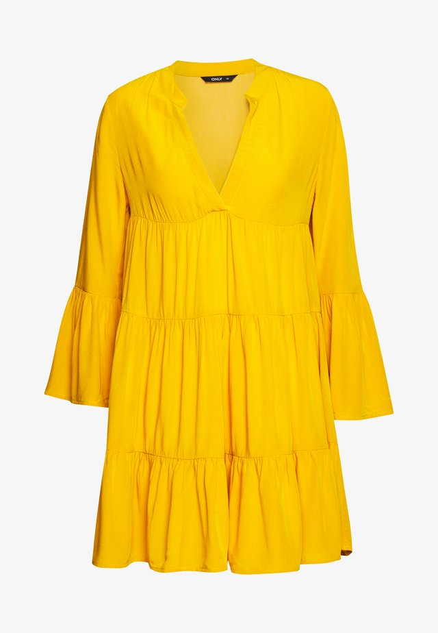 ONLNANCY ATHENA DRESS - Vestido informal - golden yellow
