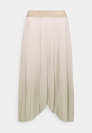 PLEATED SKIRT - Pleated skirt - swamp mix