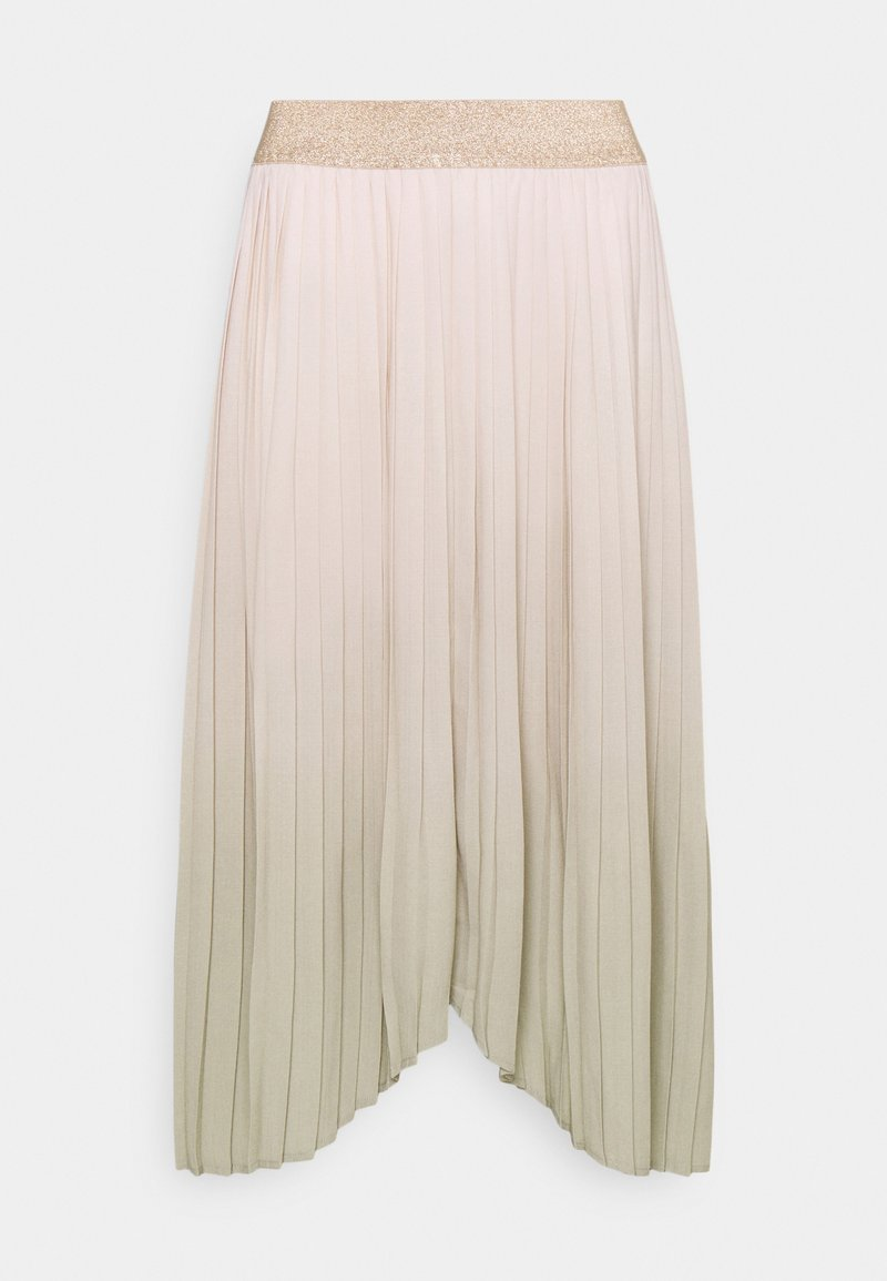 b.young - PLEATED SKIRT - Pleated skirt - swamp mix