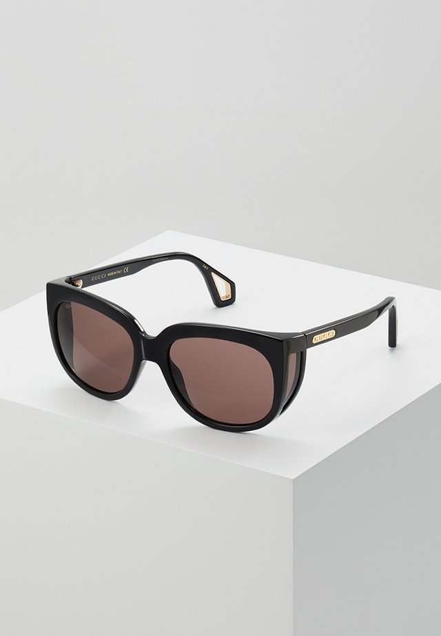 Lunettes de soleil - black/brown