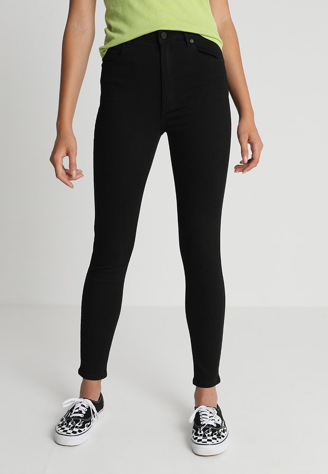 Jeansy Skinny Fit - black magic