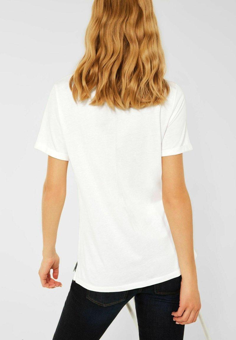 Street One - MIT PART - T-shirt med print - weiß