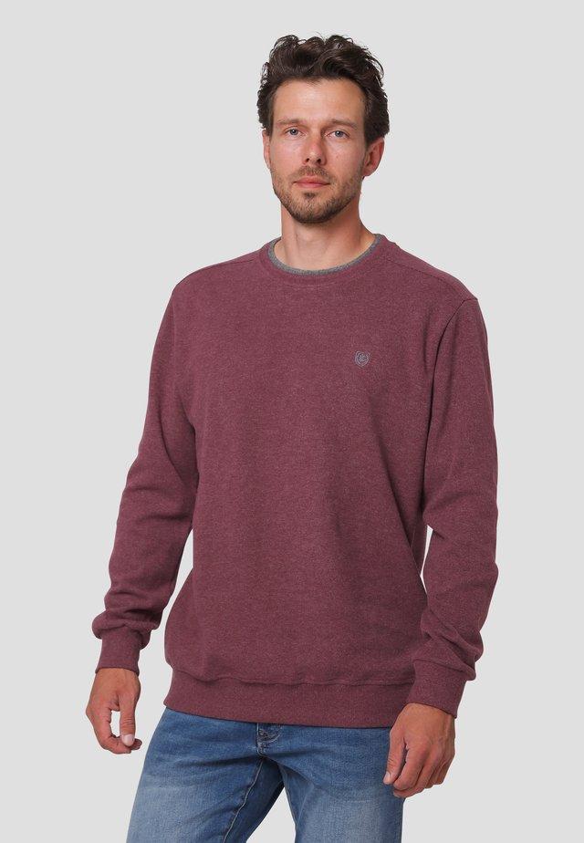 Sweatshirts - dark wine mix