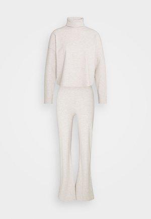 MY COZY SET - Kalhoty - beige mélange