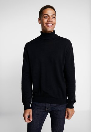 ROLLNECK - Trui - black