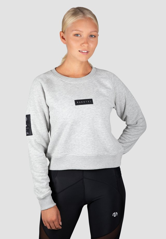 Sweatshirt - hellgrau