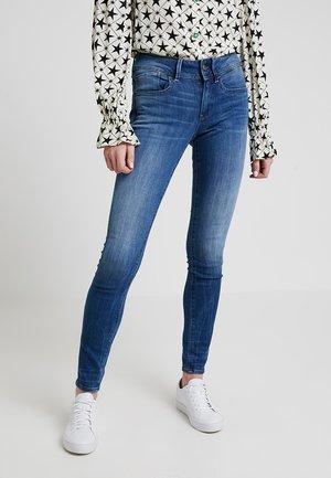 LYNN MID SKINNY - Jeans Skinny Fit - dark-blue denim