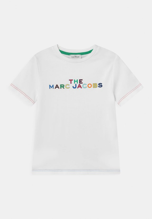 SHORT SLEEVES  - T-shirts med print - white