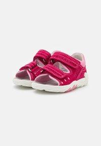 Superfit - FLOW - Sandals - rot/rosa - 1