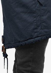 Solid - WINTERJACKE CLARKI TEDDY - Winter coat - insignia b - 5