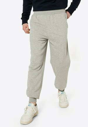 SOMETIMES WE JUST KNOW - Tracksuit bottoms - graumeliert