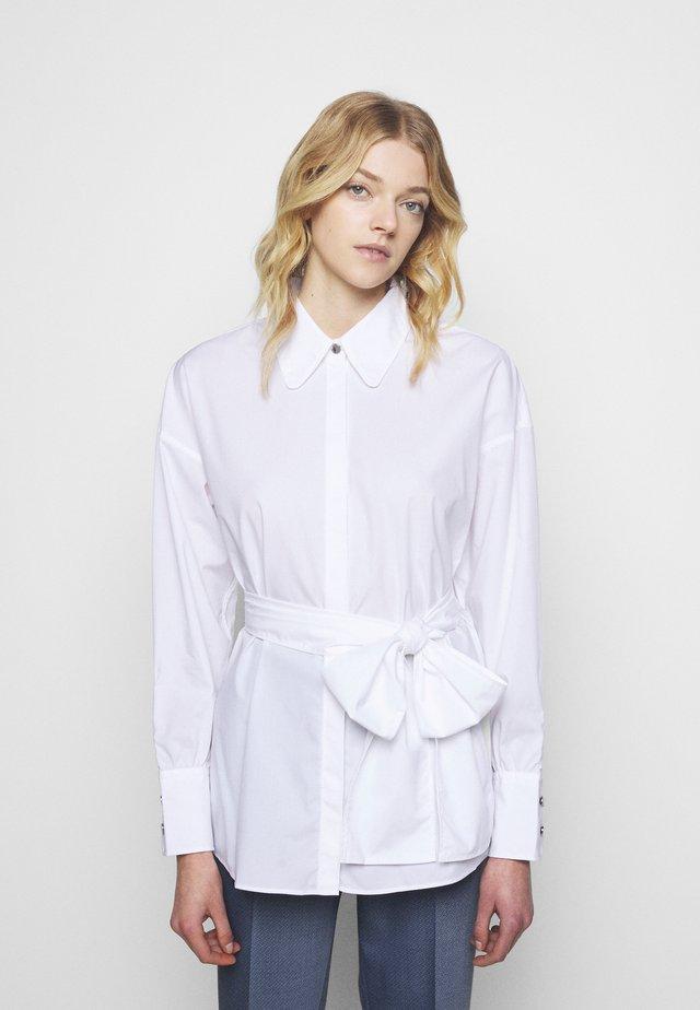 EILISH - Button-down blouse - white
