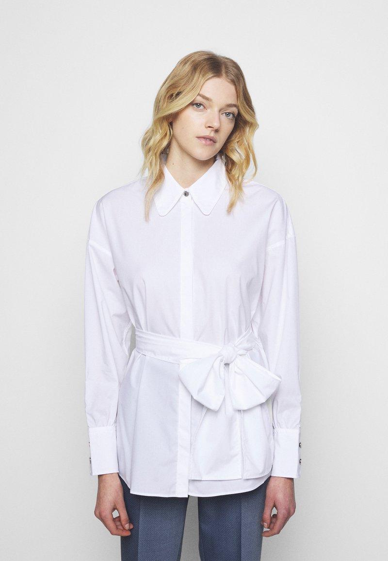 HUGO - EILISH - Button-down blouse - white