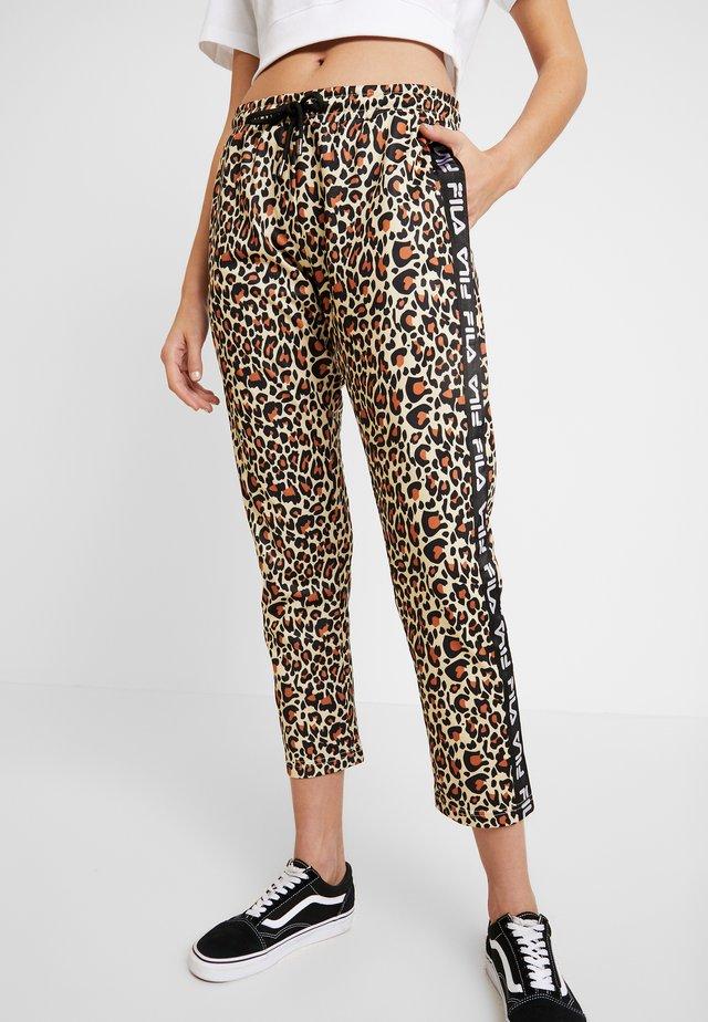PANIZ CROPPED PANTS - Pantalones deportivos - brown