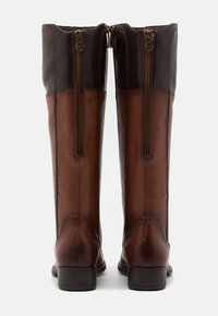 Tamaris - BOOTS - Vysoká obuv - brandy/mocca - 3