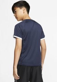 Nike Performance - DRY - Print T-shirt - obsidian/obsidian/white/white - 2