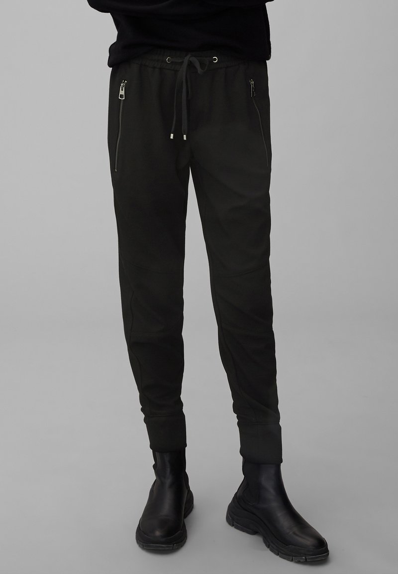Marc O'Polo - LONTTA - Tracksuit bottoms - black