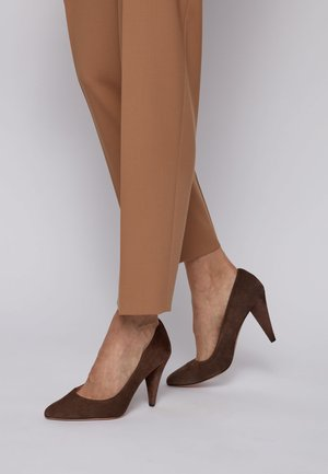 CARLYE  - High Heel Pumps - dark brown