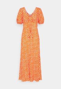 Diane von Furstenberg - TEAGAN DRESS - Day dress - tomato red - 3