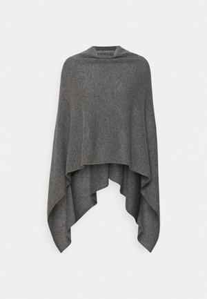 PONCHO - Pončo - med grey