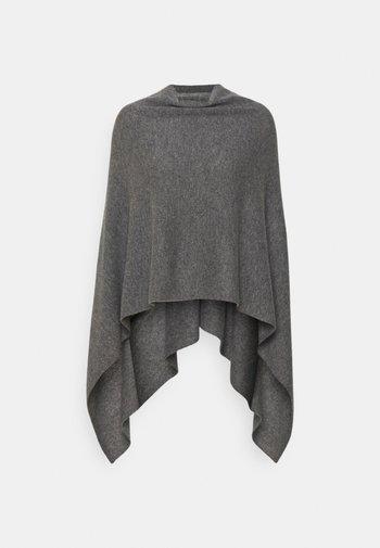 PONCHO - Poncho - med grey