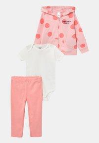 Carter's - DOT SET - Basic T-shirt - pink - 0
